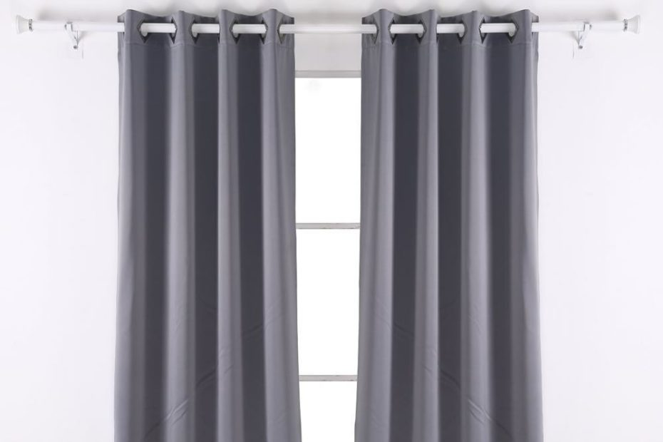 Grey Deconovo blackout curtains