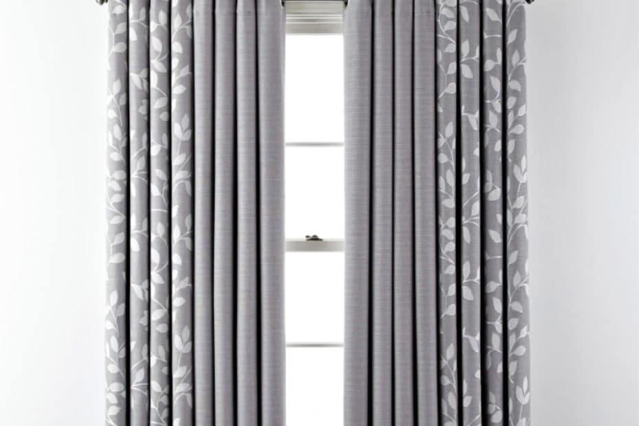 Quinn Grommet curtains on a window