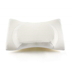 Therapeutic Design Contour Pillow on white background