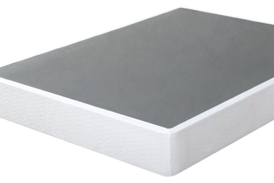 Zinus box spring on white background