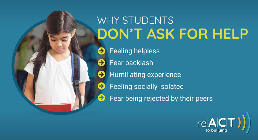 why students don't ask for help