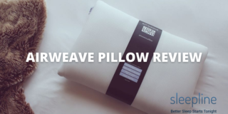 Airweave pillow review featured image