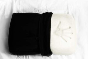 Night Pillow with handprint