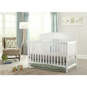 Graco Charleston crib in a bedroom