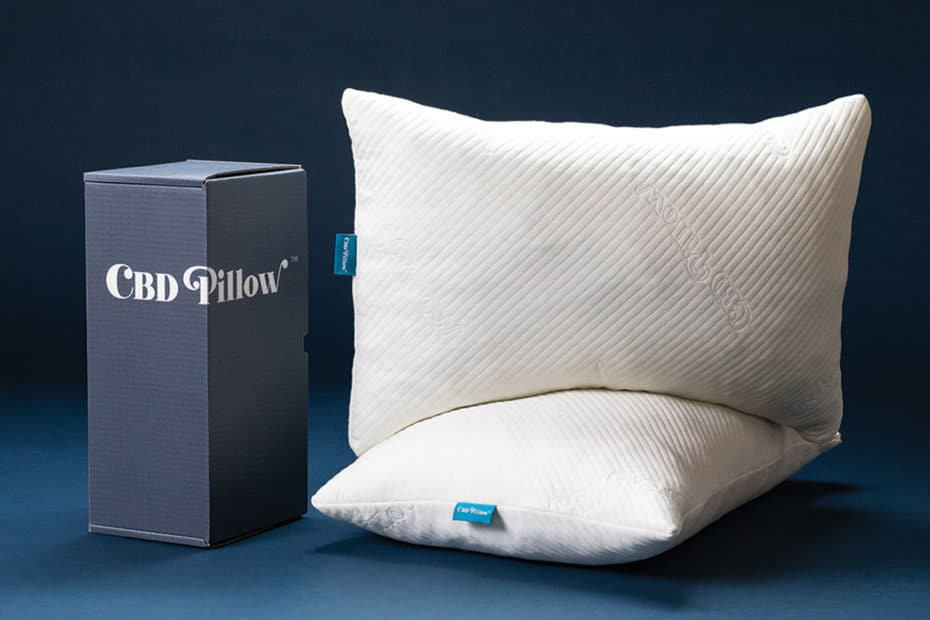 CBD Pillow with box