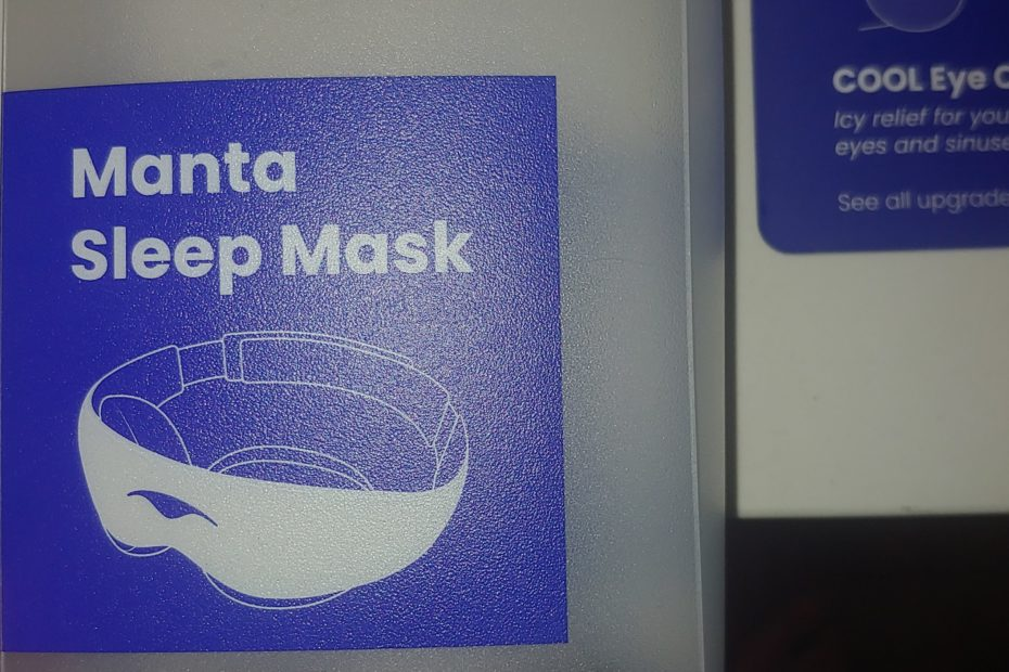 Manta Sleep Mask logo