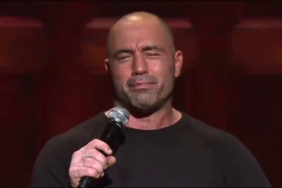 Joe Rogan on stage