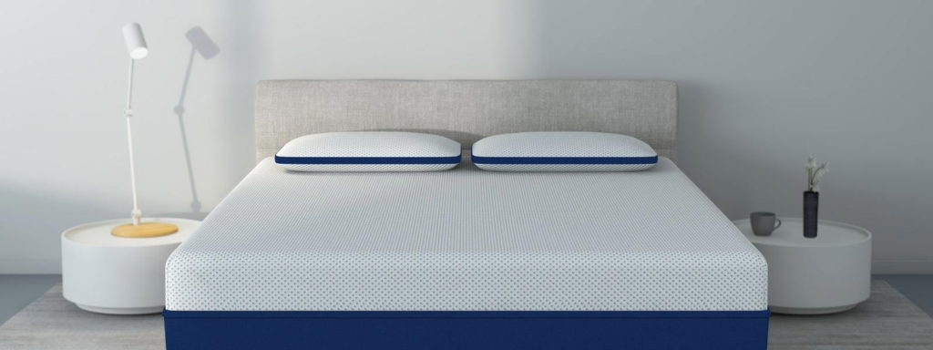 Amerisleep Comfort Classic pillows on mattress