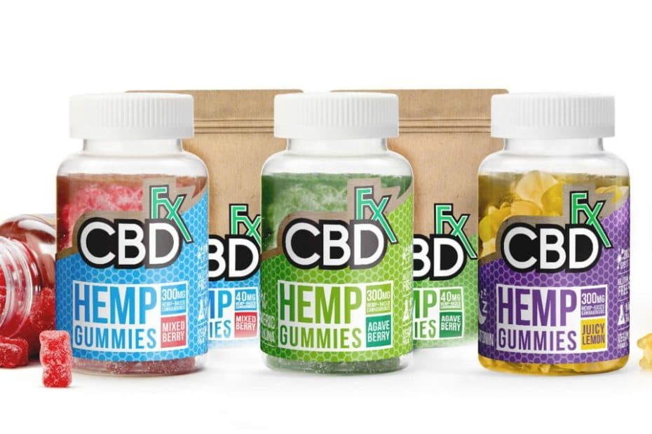 CBDFX gummies with melatonin