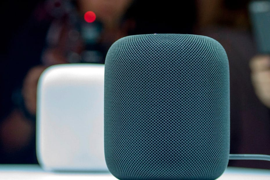 Apple Homepod speakers