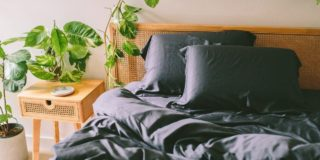bamboo sheets tropical bedroom