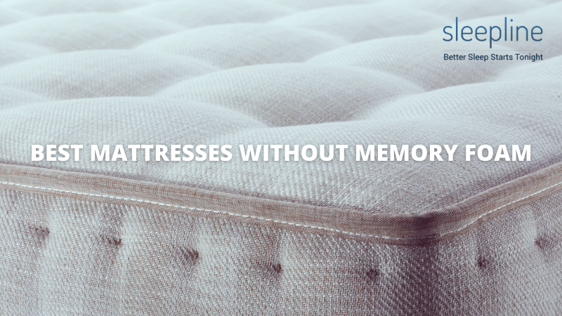 Featured image for best mattresses without memory foam list