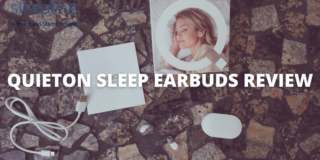 Quieton 3 Sleep Earbuds with all accessories